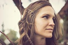 Twig Bobby Pins Bella Rustica Antique Bronze as seen in Real Simple Magazine. $20.50, via Etsy.