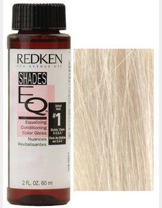 Redken 09G Toner - Vanilla Creme Redken Color Formulas, Hair Color Formulas, Redken Shades Eq, Copper Hair, Gold Hair, Silver Hair, Shades Eq Color Chart, Colour Chart, Tatoo