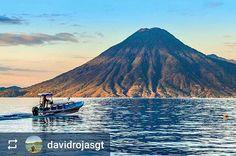 Follow @davidrojasgt: #Landscape of #Lake #Atitlan #Guatemala - San Pedro #Volcano - #ILoveAtitlan #AmoAtitlan #Travel http://OkAtitlan.com