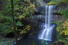 Lower South Falls at Silver Falls State Park  #oregonwaterfalls #oregon…