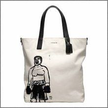 """The """"Grrr"""" sells it. Not a Coach fan, but love this Hugo Guiness men's tote. Ordered it."""