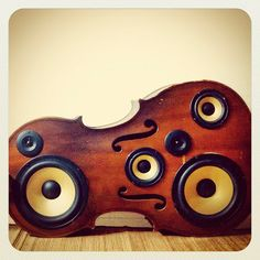 cello speaker box via creativespotting.com