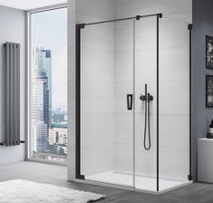 Czarna kabina prysznicowa SanSwiss model Cadura CA31C+CAT5 ----------------- #sanswiss #aranżacjawnętrz #kabinaprysznicowa #BathroomShower #ShowerSystems #kabinyprysznicowe #kabina #projektowaniewnetrz #instagood #mynordicroom #inspiracjewnetrz #wnetrze #ikeapolska #inspiracjelazienkowe #modernbathroom Shower Cabin, Cabins, Ikea, Divider, Bathtub, Bathroom, Model, Furniture, Home Decor