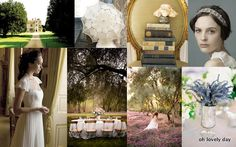 Oh Lovely Day™: {Inspiration Board} Jane Austen Wedding