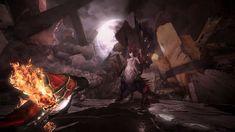 dracula fighting satan's daughter in castlevania los2