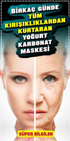 Kırışıklık gideren Yoğurt ve Karbonat Maskesi ile lekesiz bir cilt sahibi . Would you like to have a spotless skin with Yogurt and Carbonate Mask that removes wrinkles? Our skin can get worse Homemade Skin Care, Homemade Beauty, Beauty Care, Beauty Hacks, Weight Loss Journal, Anti Ride, Les Rides, Skin Mask, Facial Cleansers