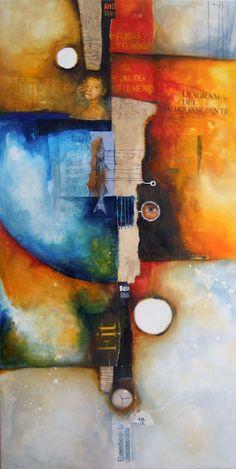 Agustin Castillo: Abstracts / y pensar que él me dio clases de ilustración...