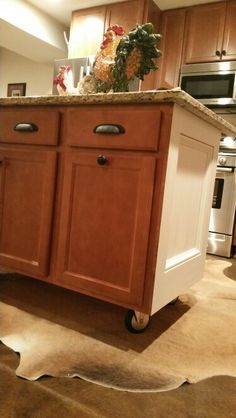 Kitchen Island On Casters  Kitchen  Pinterest  Kitchens Amazing Kitchen Island On Casters Inspiration Design
