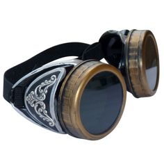Steampunk GogGLes VicTORian Novelty Glasses cosplay Antique filigree S3