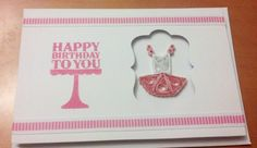Birthday Card with Quilled Ballerina Dress by SarasPaperPretties, $6.00