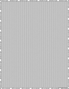 Graph paper that can be used for bead rope crochet.  This site has a ton of graph for all sorts of beading types.  http://shala.addr.com/beads/resources/graphpaper/index.html