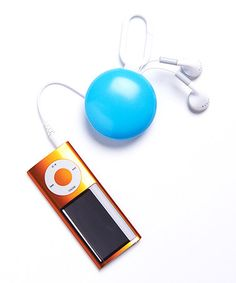 Take a look at this Blue Retractable Earbuds by DCI on #zulily today!
