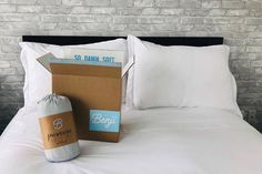 The online mattress industry is booming right now, if you haven't noticed ads for bed-in-a-box services like Casper and Endy pretty much everywhere. Cuddles In Bed, Box Company, Big Box Store, Affordable Bedding, Mattress Brands, Sheet Sets, How To Know, Bed Sheets, Memory Foam