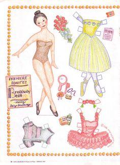 Magazine Paper dolls – DollsDoOldDays – Picasa Nettalbum
