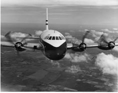 British Overseas Airways Corporation Bristol Britannia G-ANBC. A perfectly good medium-long range turboprop when it entered service in 1957, the Britannia was quickly superseded by competing jetliners, and only 85 were ever built.