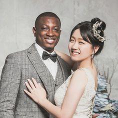 Interracial Family, Interracial Marriage, Interracial Wedding, Mixed Couples, Black Couples, Cute Couples, Biracial Couples, Interacial Couples, How To Speak Korean