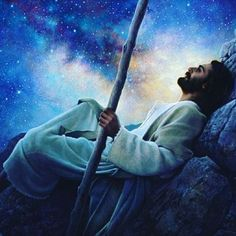 "Every piece signed by Greg Olsen. ""Who has not at one time or another, laid under a clear night sky and marveled at the wonders of creation? Jesus Art, God Jesus, Jesus Christ, Lds Pictures, Pictures Of Christ, Greg Olsen Art, Lucas 6, Spiritual Prayers, Catholic Prayers"