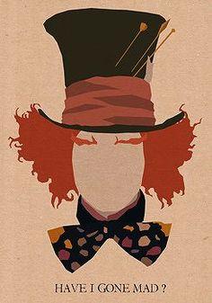 W ARTE POP Pôsters Minimalistas dos Personagens de Johnny Depp Olhem só que bacana esses pôsters que achei no Tumblr, ilustrando cada personagem do inconfundível ator Johnny Depp. cada um com uma frase correspondente ao personagem: