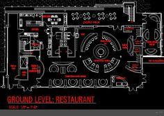 Restaurant Kitchen Layout Autocad