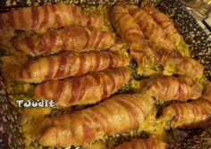 Ketogenic Recipes, Diet Recipes, Vegan Recipes, Keto Dinner, Diy Food, Poultry, Minis, Bacon, Sausage