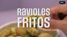 Ravioles Fritos de Espinaca y Ricota