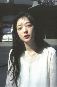 sulli : my idea Sulli Choi, Choi Jin, Beautiful Soul, Beautiful Babies, K Pop, Korean Beauty, Ulzzang Girl, K Idols, Girl Crushes