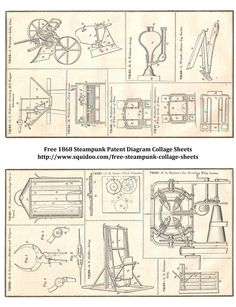 Various resources for Munari's Machines lesson