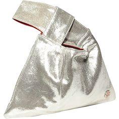 TOKEN The Ritz Hand Bag Silver - TOKEN Leather Handbags