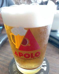 Nem só de café viverá o homem. Chopp Ekäut. #chopp #beer #ApoloBeerCafe