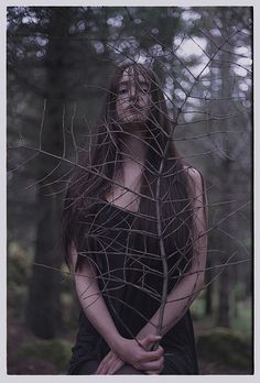 """""""We often forget that WE ARE NATURE. Nature is not something separate from us. So when we say that we have lost our connection to nature, we've lost our connection to ourselves."""" ~Andy Goldsworthy( Wood Witch by Marsý, via Flickr.)"""