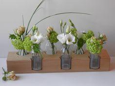 Vasen - Blumenvase, *7*, Blumenwiese, Buche,Vase, Holzvase - ein Designerstück von Goebel-Simone bei DaWanda