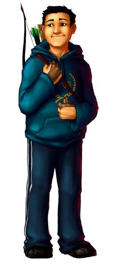 Frank to go with Percy, Annabeth, Thalia, Nico, Leo, Piper, Jason aaaaand Hazel! Frank my all time fave because he's so adorable and too precious for this world i mean how is he so nice | art by luaru