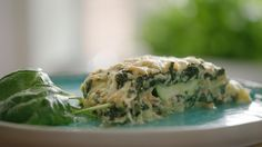 Lasagne van courgette, zalm, ricotta en spinazie | VTM Koken
