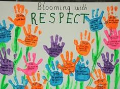 Blooming With Respect! - Spring Bulletin Board