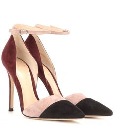 Love this by GIANVITO ROSSI Suede Pumps - $875