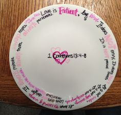 DIY decorative plate! Decorate white ceramic dish with Sharpies, bake at 150 for 30min and it's permanent! Hand wash only.