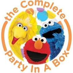 Sesame Street Party in a Box