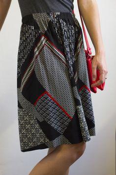 Classy Elastic Skirt Tutorial — Jupe du Jour
