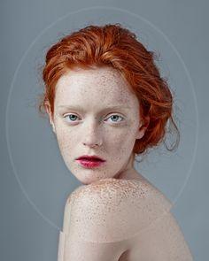 Red Haired Beauties shot by Kristina Varaksina. http://illusion.scene360.com/art/79387/kristina-varaksina/ #photography #redhead #beauty