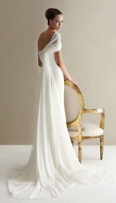 Wedding dress idea; Featured Dress: Antonio Riva