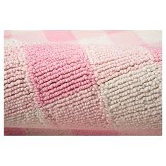 "Gingham Rug - Pink - (3'6"" x5'6"") - Momeni"