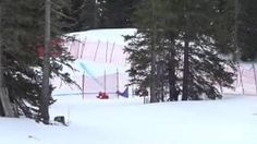 Skier Crashes and Loses a Ski
