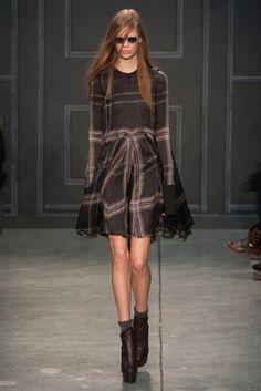 New York Fashion Week February 2014  Vera Wang Collection