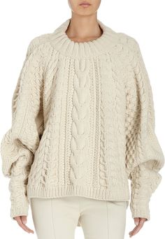 Wouldn't mind this chunky knit from The Row.