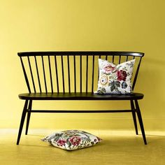 British design through the decades - 1950s Entry Hall - Bench is by Ercol - about £700 ish
