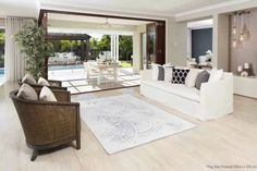 Sierra Rugs are made from a double frise polypropylene yarn giving it a naturally soft feel. Good range of designs to suit either a modern or classic decor. Large Rugs, Small Rugs, Dyi, Soft Flooring, Décor Boho, Hard Floor, Outdoor Furniture Sets, Outdoor Decor, Can Design