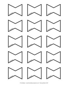 Bows, Lesson Plans - The Mailbox Spring Projects, Spring Crafts, Diy Projects To Try, Preschool Art Projects, Preschool Crafts, Kite Template, Templates, Kite Tail, Kites Craft