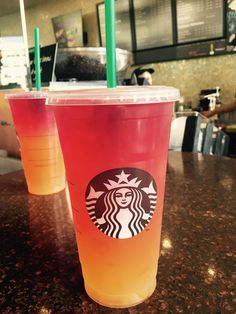 The Coachella Sunrise shared with the Secret Menu for Starbucks App!