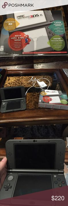 Nintendo 3DS XL Used literally once to play Majora's Mask, is in new condition and comes with original box and charger. Please feel free to ask questions and/or offer! Tags: video games Nintendo 3DS XL console Nintendo Other