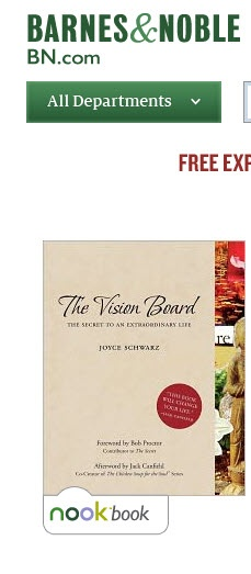 The Vision Board book for NOOK -- also available for Kindle and google books and more